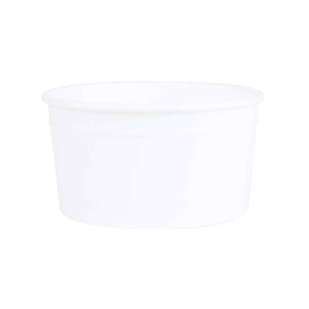 Ice Cream Tubs 162ml White x 1400
