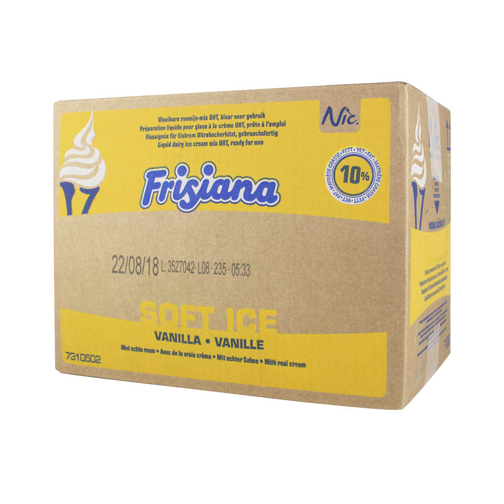 Frisiana 10% UHT Ice Cream Mix x 10 Lt