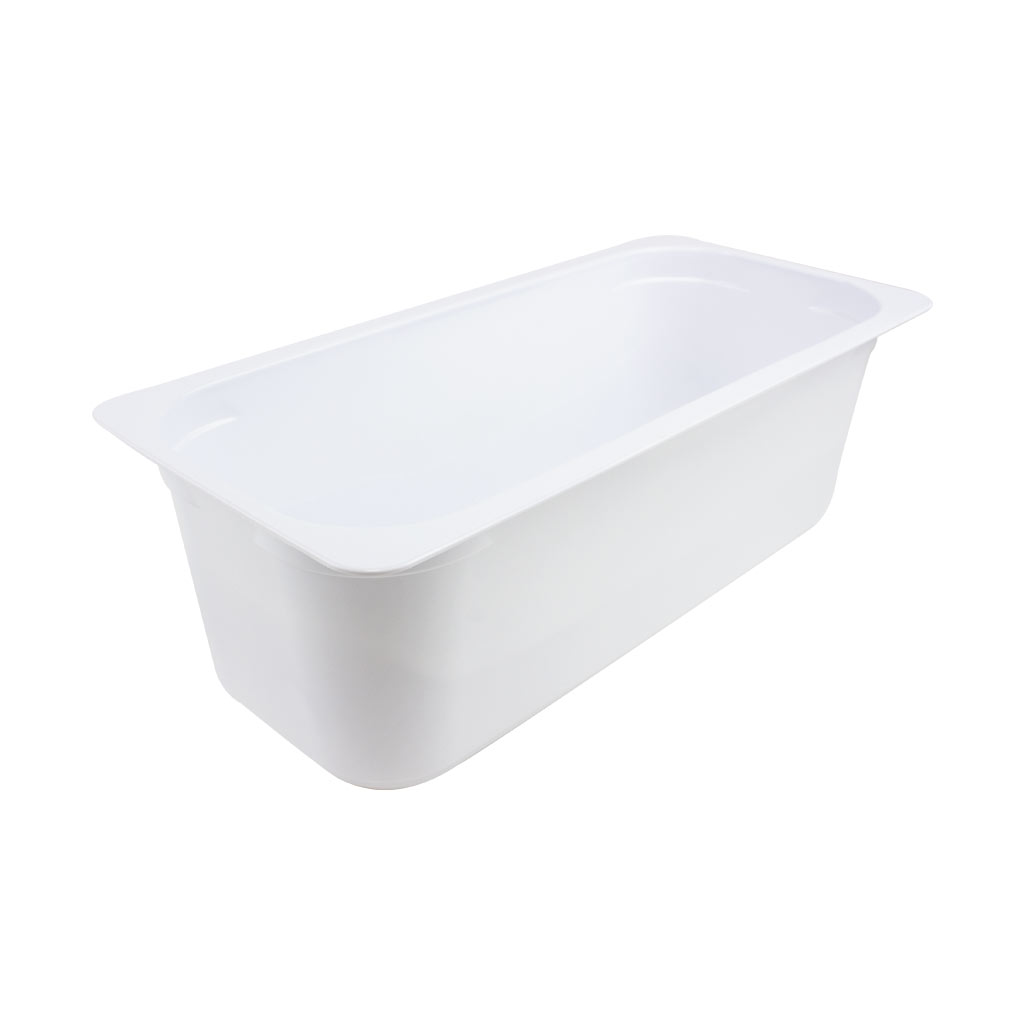 White 4.5Ltr Napoli Containers x 100