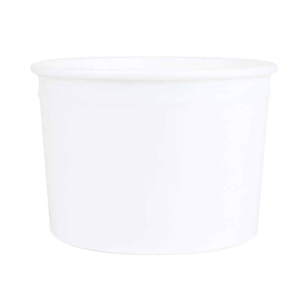 Ice Cream Tubs 285ml White x 960
