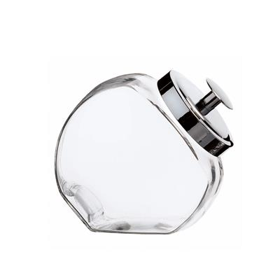 Storage Jar Small Chrome Lid