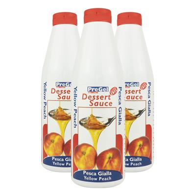 Yellow Peach Deluxe Sauce x 1kg