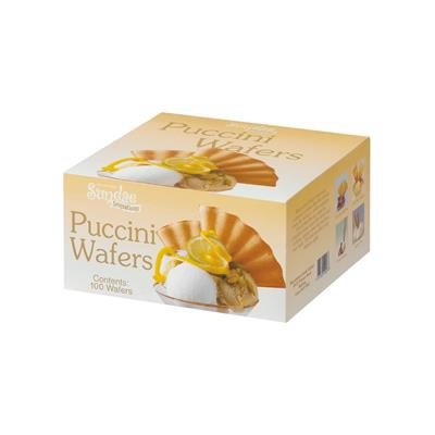 Puccini Fan Wafers 2 x 100 Cartons