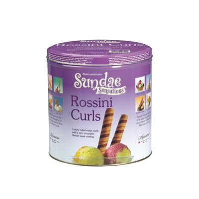 Rossini Deluxe Wafer Curls Tins 2x 280